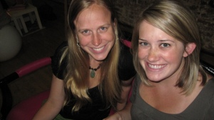 Melissa & Carly in all their cuteness. See? I really do have non-blogging friends.