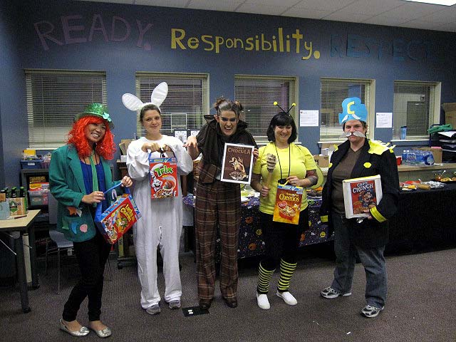 Well deserved! Cereal characters!  sc 1 st  Sizzle Says - WordPress.com & Happy Halloween | Sizzle Says